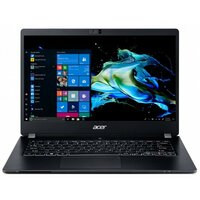 "Ноутбук ACER TravelMate P6 TMP614-51-G2-75DR (NX.VMQER.008), 14"" FHD (1920х1080) IPS, i7-10510U 1.80 GHz, 8+8 GB DDR4, 1TB PCIe NVMe SSD, UHD Graphics, WiFi, BT, IR camera, FPR, 60Wh, Win 10 Pro, 3 ОS, Black, 1.1kg"