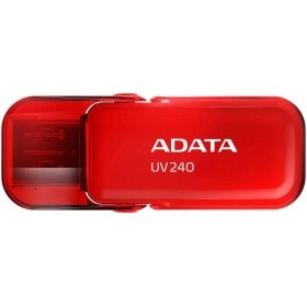 Накопитель ADATA AUV240-16G-RRD 16GB UV240 USB 2.0  Flash Drive (RED)