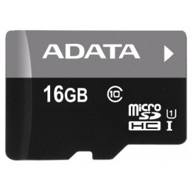 Карта памяти ADATA AUSDH16GUICL10-B 16GB microSDHC class10 UI without SD adapter