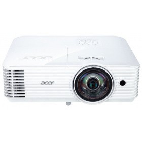 Проектор Acer S1386WHn (MR.JQH11.001), DLP 3D, WXGA, 3600lm, 20000/1, HDMI, RJ45, short throw 0.5, 2.7kg, EURO EMEA