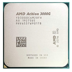 Процессор AMD Athlon 3000G AM4 OEM, YD3000C6M2OFH